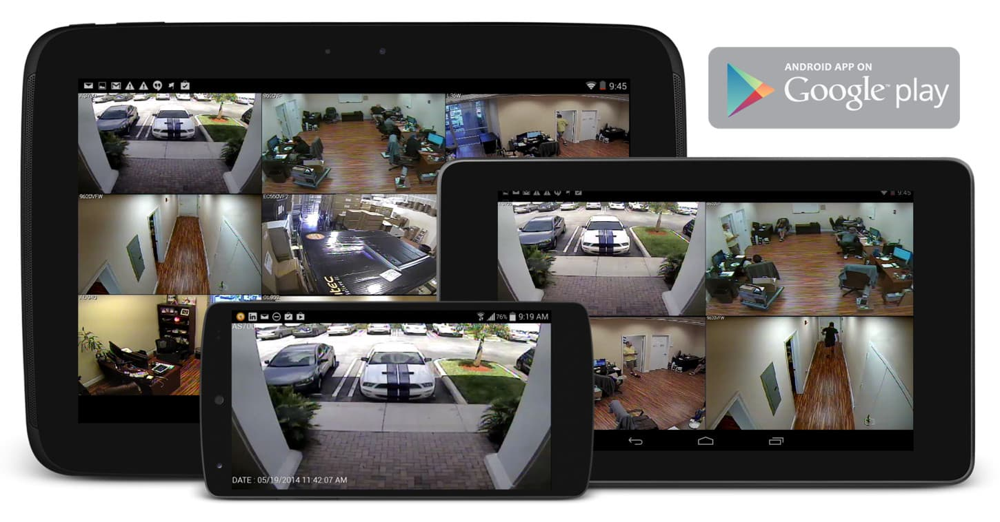 Android Compatible Security DVR