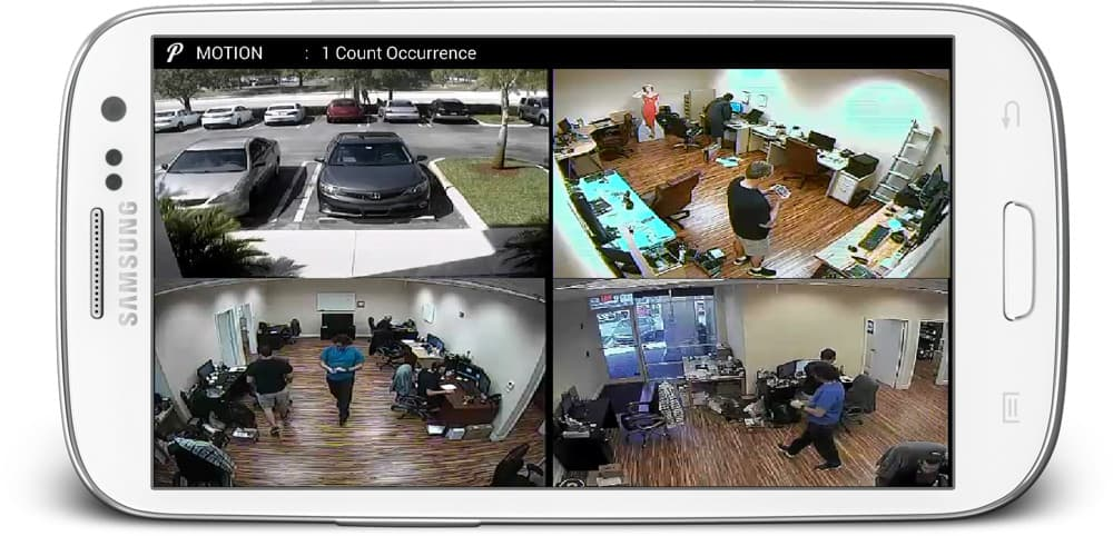 CCTV Android App Live Camera View