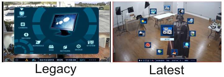 CCTV DVR Main Menu