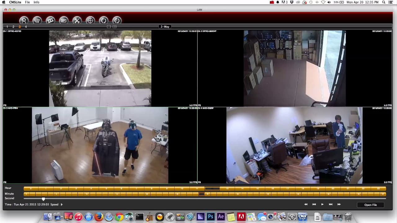 Mac DVR Viewer Software For Security Cameras