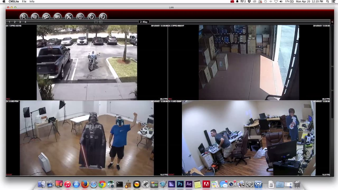Mac Software Live Security Camera View