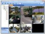Surveillance DVR Multiple Location View