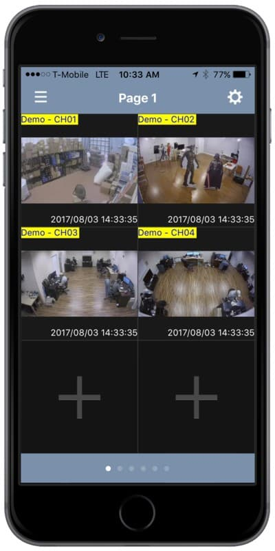 GV-Eye Remote Access iPhone Setup