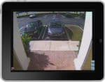 Geovision DVR iPad App Single Camera View 1