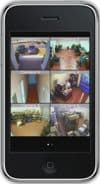 Geovision DVR iPhone App Multiple Camera View