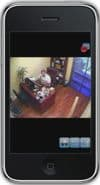Geovision DVR iPhone App Single Camera View 4