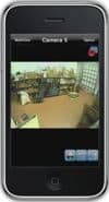 Geovision DVR iPhone App Single Camera View 5