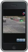 Geovision DVR iPhone App Single Camera View 7