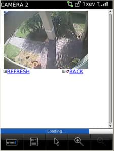 Blackberry Surveillance DVR Viewer