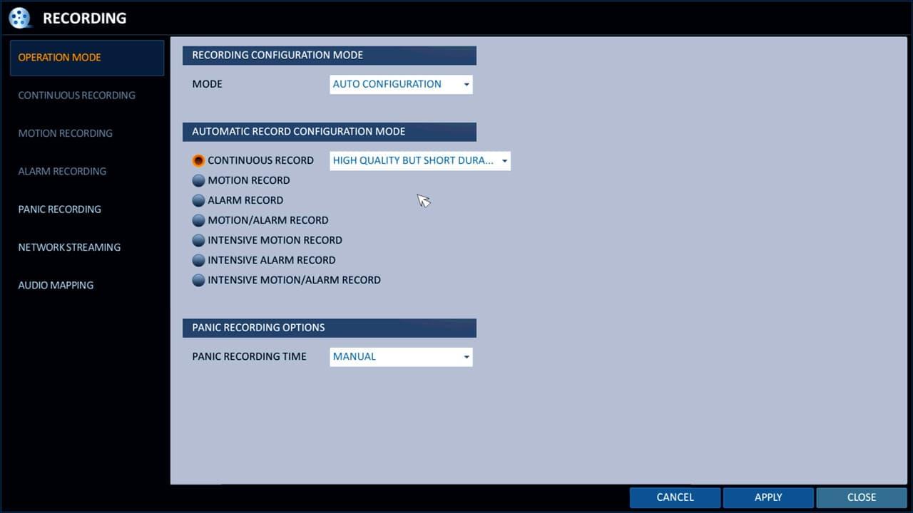 Surveillance Video Recording Setup for iDVR-PRO 960H / H 264 CCTV DVRs