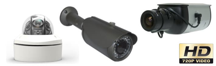 720p HD Security Cameras