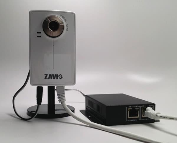 12v PoE Power Splitter, IEEE 802 3af Power over Ethernet, 10/100Mbps