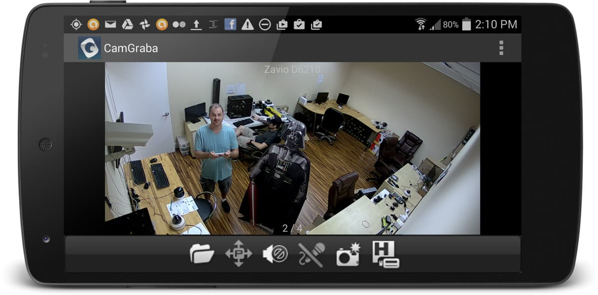 IP Camera Android App