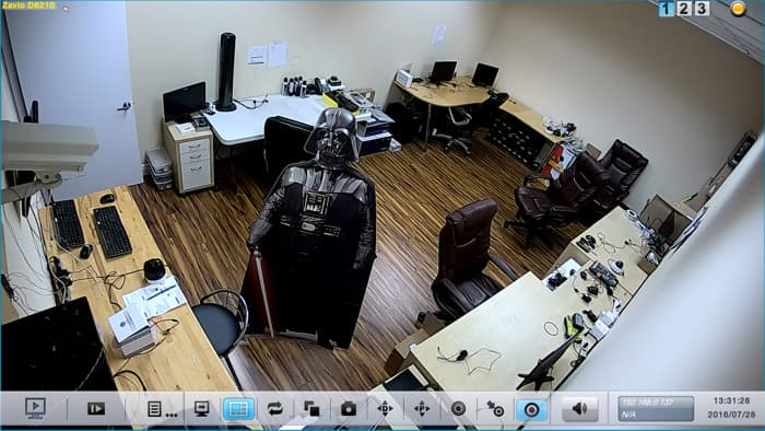 Dome IP Camera Surveillance