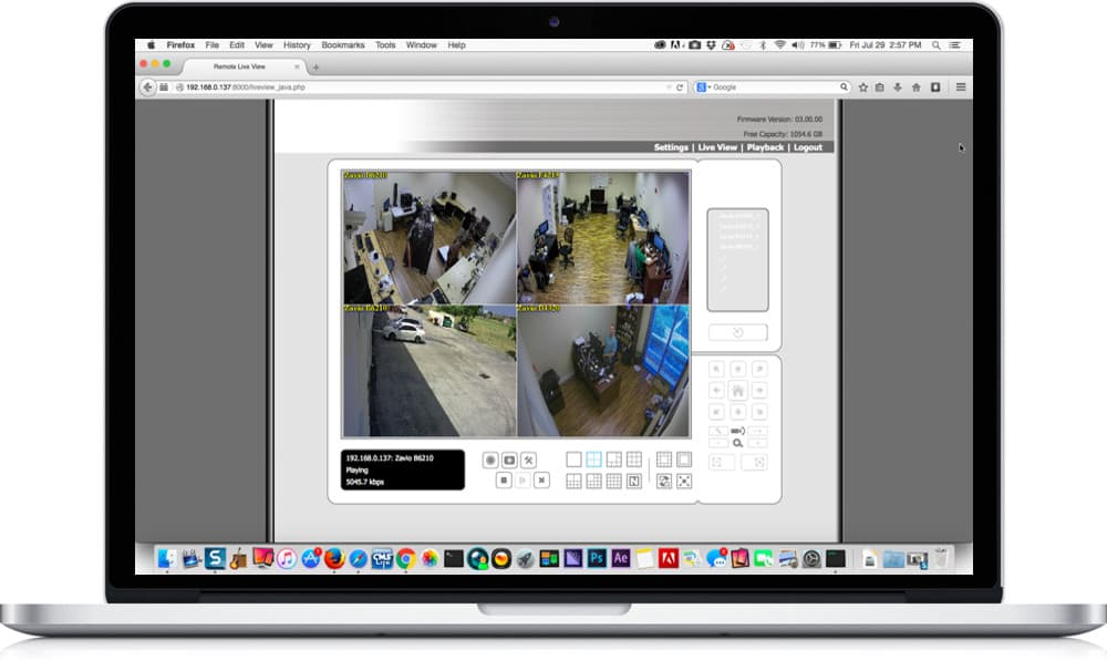 Mac IP Camera Remote View App