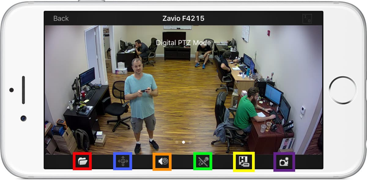iPhone App Live IP Camera Viewer