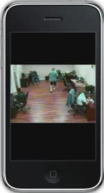 Nuuo Surveillance DVR iPhone App Live Camera View 3