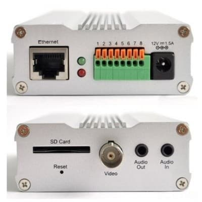 Vivotek VS8102 Front and Rear View