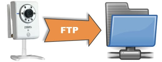 IP Camera FTP Upload Image