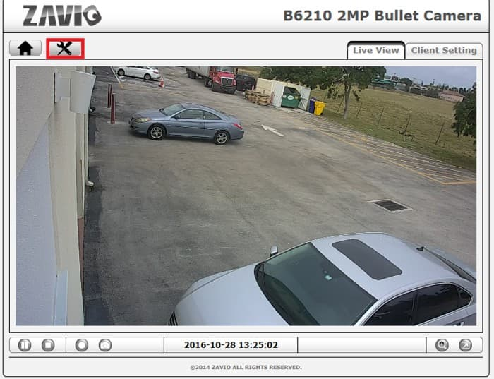 Zavio IP Camera Password