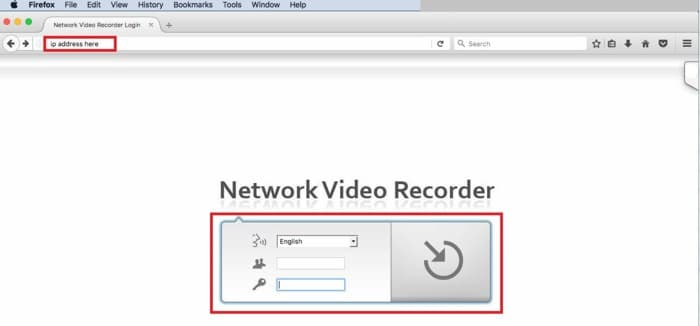 Zavio NVC NVR Mac Web Browser