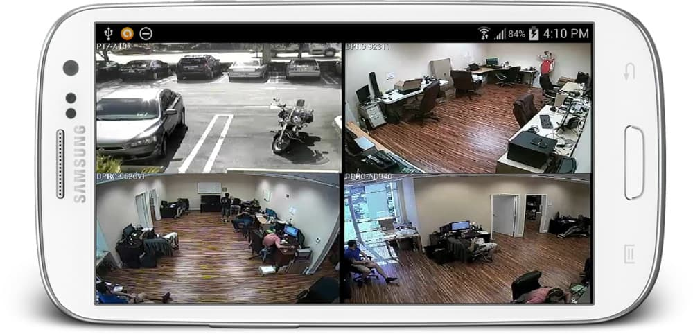 Best Home Surveillance System >> View Security Cameras from Android App