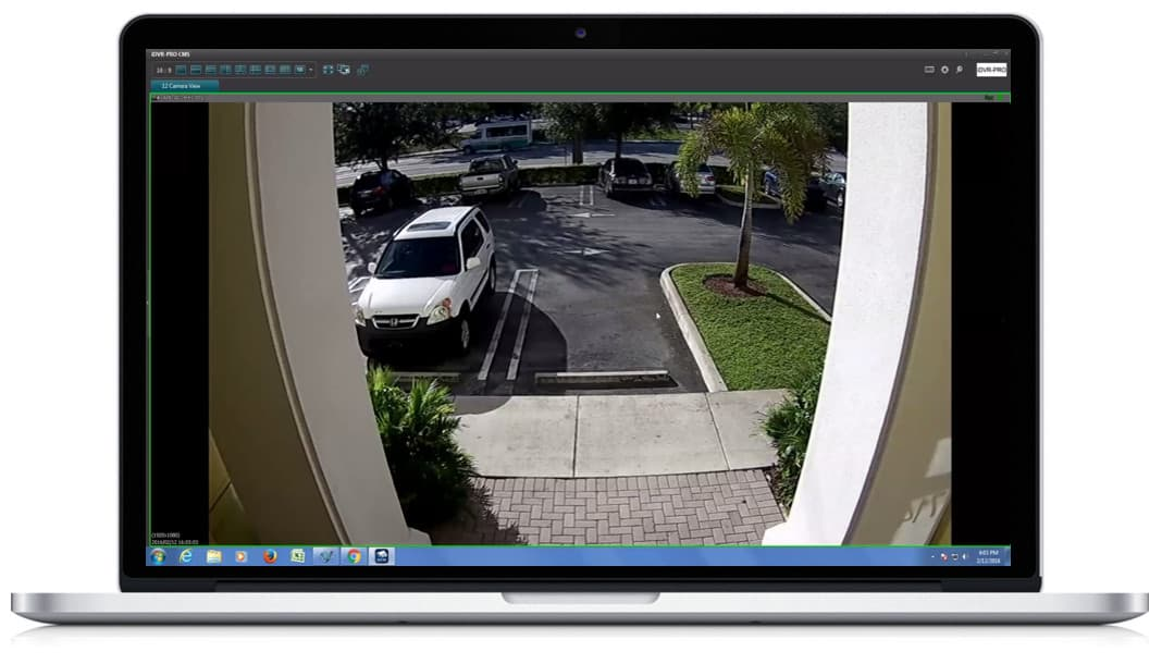 Windows CCTV DVR Software HD Security Camera View