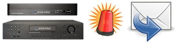 Email Alert Setup for iDVR-PRO 960H H.264 DVRs