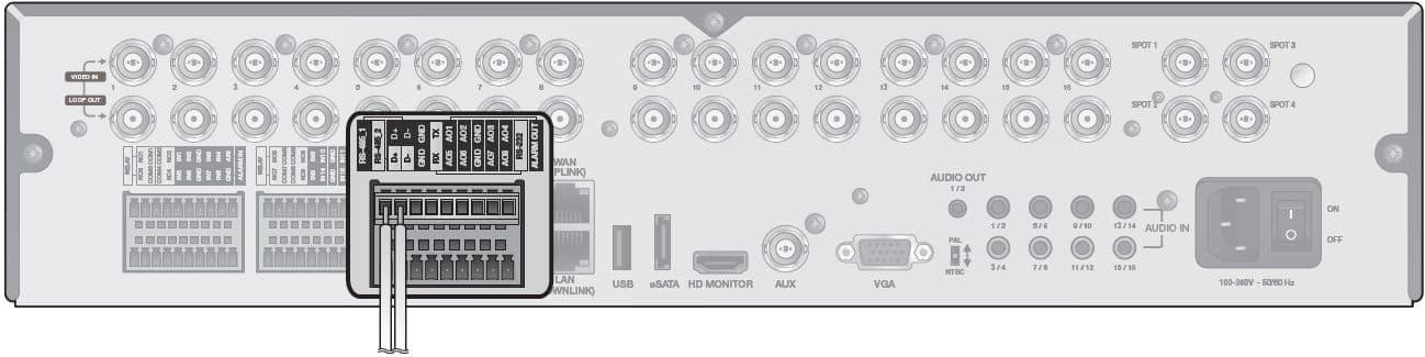 Miraculous Ptz Setup For Idvr Pro 960H H 264 Cctv Dvrs Wiring 101 Tzicihahutechinfo