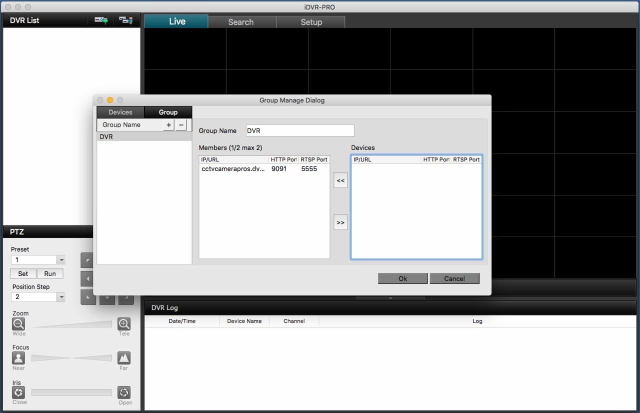 Surveillance DVR Mac Viewer Software Setup