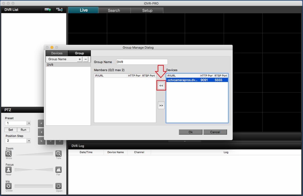 iDVR-PRO Mac CMS Remote Access Setup