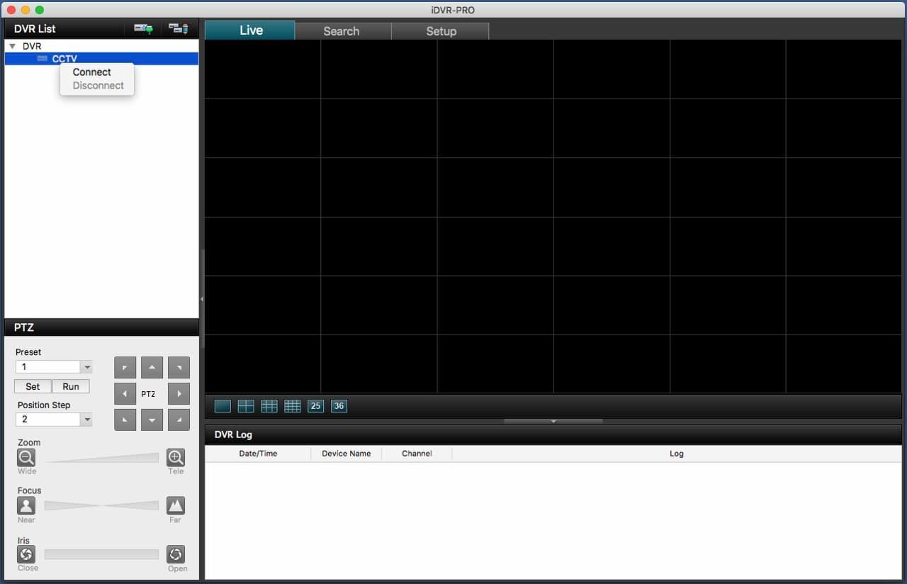 iDVR-PRO Mac Remote Access