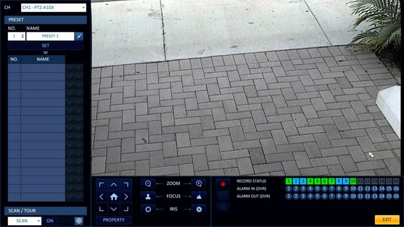 iDVR-PRO Up the Coax Control Setup