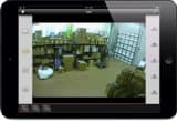 CCTV iPad App for iDVR Recorders - Camera 1 View