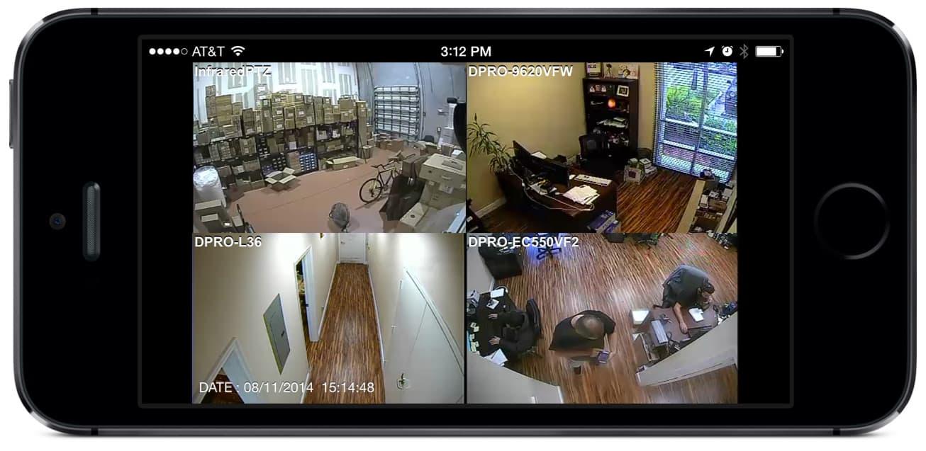 surveillance video playback on ios app idvr pro cctv dvrs. Black Bedroom Furniture Sets. Home Design Ideas