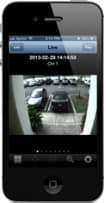 DVR Viewer iPhone App for CCTV