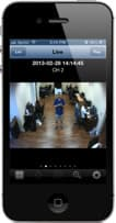 DVR Viewer iPhone App for Surveillance Cameras