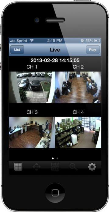 Fonctionnalités de l'appli espionne iPhone agréée SpyGate