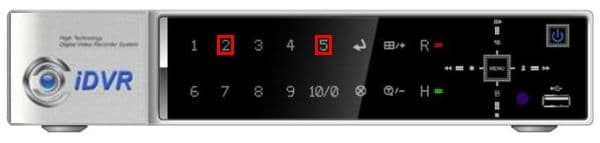 iDVR-E 16 Channel Password Reset Instructions