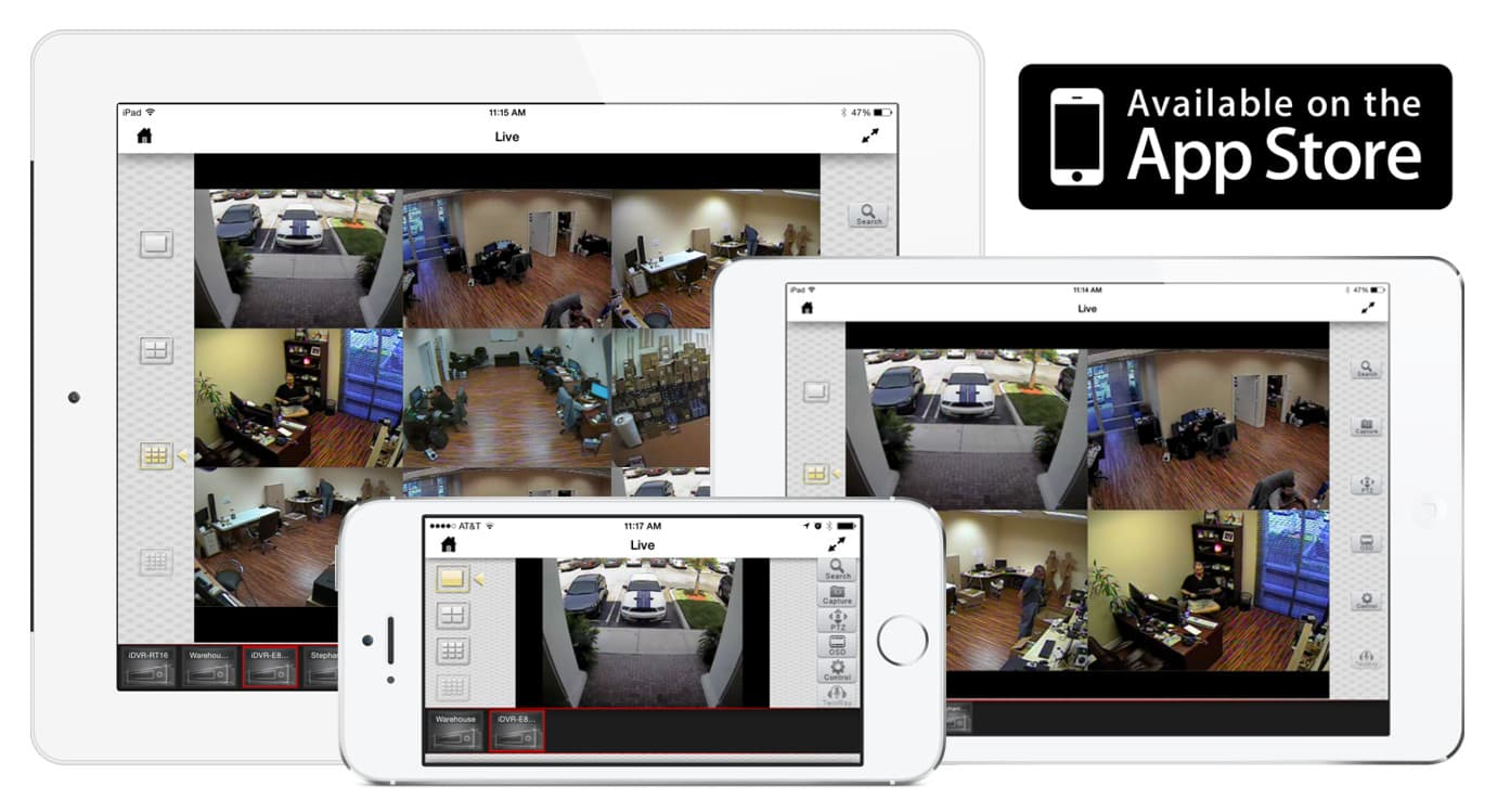 iOS Compatible CCTV DVR