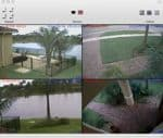Mac DVR Viewer Live 4 Camera View