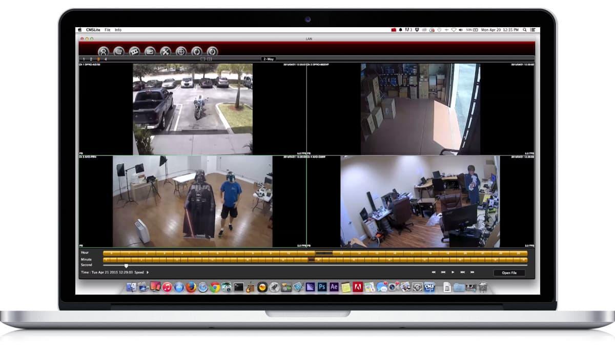 mac security camera software. Black Bedroom Furniture Sets. Home Design Ideas