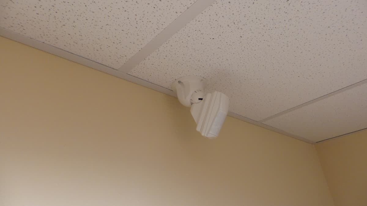 Ceiling Mount Motion Detector