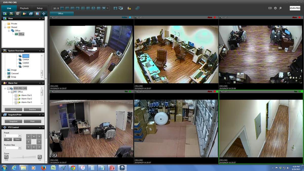 Ptz security camera mounts