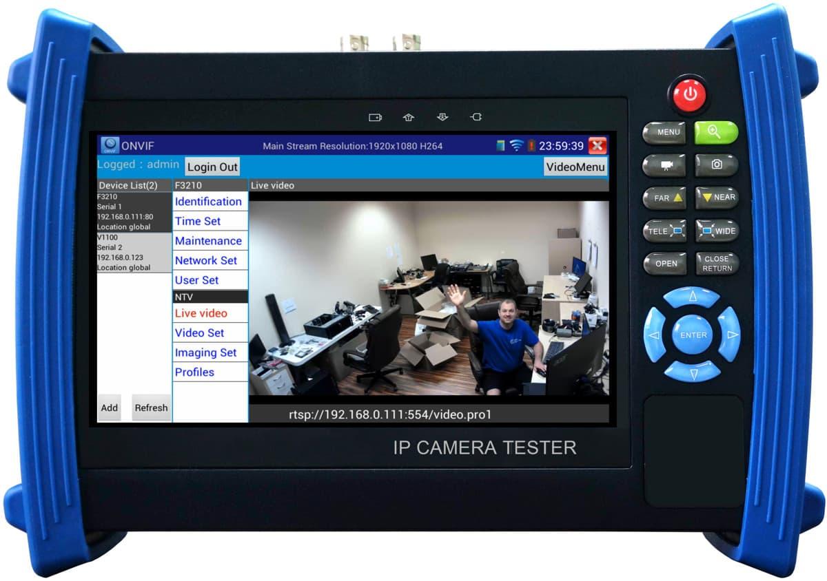 Ip Camera Test Monitor Video Amp Wireless Network Setup
