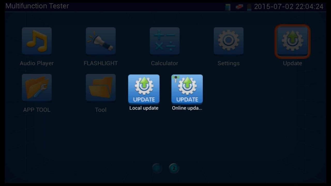 MON-IP7 Firmware Update
