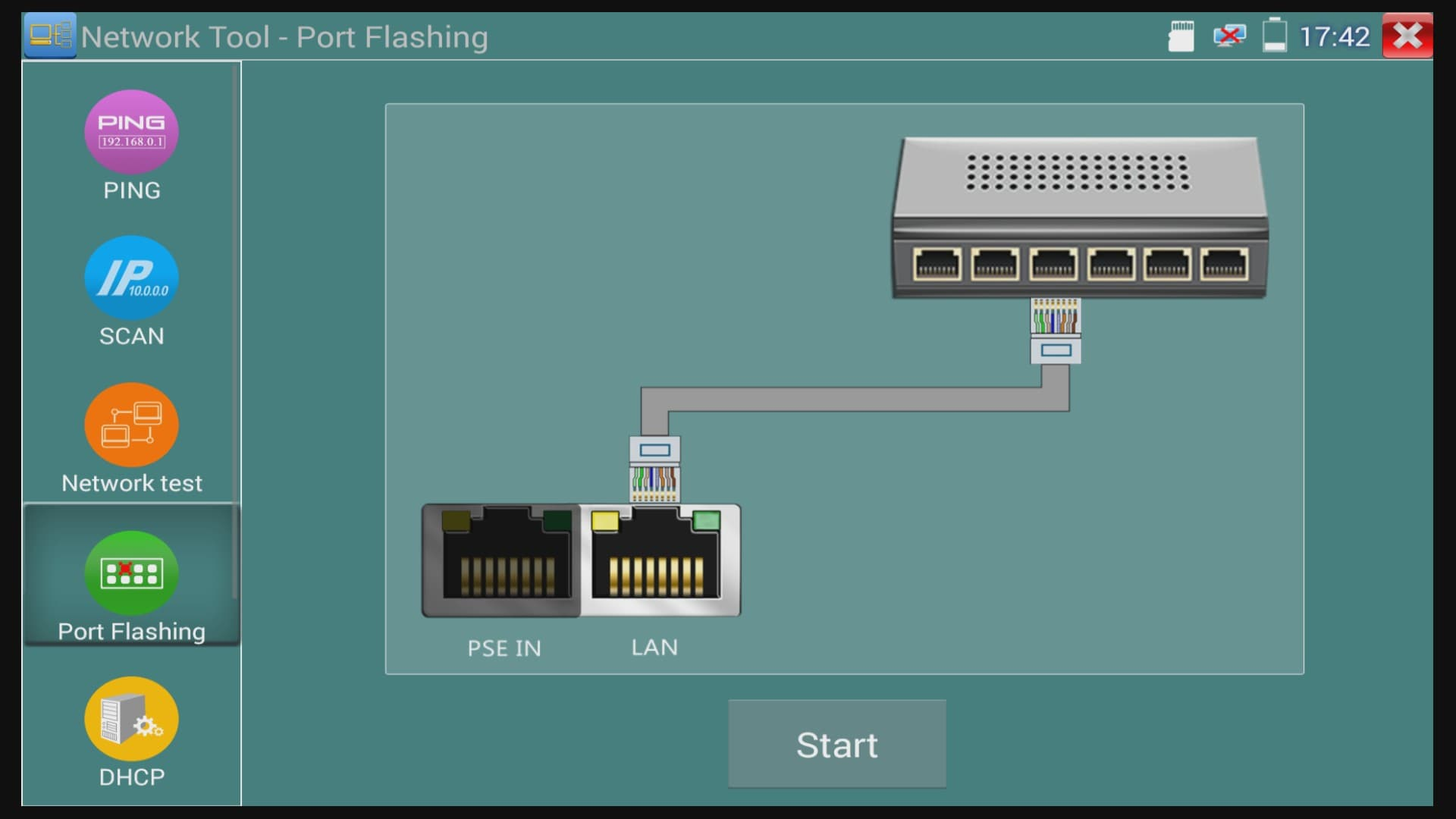 Network Cable Port Locator Tool | Ethernet Cable Port Mapping