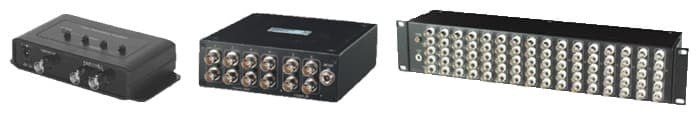 CCTV BNC VIdeo Splitters and Amps