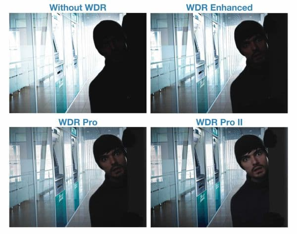 Vivotek FD8355EHV WDR Pro II Enhancement