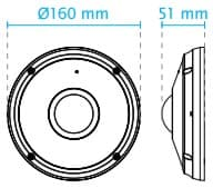Vivotek FE9382-EHV Dimensions
